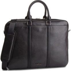 Torba na laptopa NOBO - NBAG-MF0150-C020 Czarny. Czarne torby na laptopa marki Nobo, ze skóry ekologicznej. W wyprzedaży za 199,00 zł.