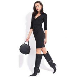 Fille Du Couturier Sukienka Damska Deborah 38 Czarny. Czarne sukienki balowe Fille Du Couturier, z koronki. Za 269,00 zł.