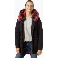 Superdry - Kurtka damska, niebieski. Szare kurtki damskie marki Superdry, l, z nadrukiem, z bawełny, z okrągłym kołnierzem. Za 649,95 zł.