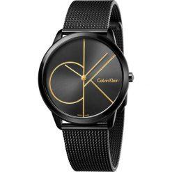 ZEGAREK CALVIN KLEIN MINIMAL K3M214X1. Czarne zegarki męskie Calvin Klein, szklane. Za 1169,00 zł.