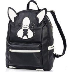 """Plecaki damskie: Plecak """"Zwierzak"""" bonprix czarny Pies"""