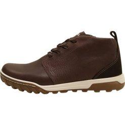 Ecco URBAN LIFESTYLE Obuwie hikingowe brown. Brązowe buty sportowe męskie ecco, z materiału, outdoorowe. W wyprzedaży za 479,20 zł.