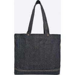 Levi's - Torebka. Brązowe torebki klasyczne damskie Levi's®, z bawełny, duże. Za 229,90 zł.