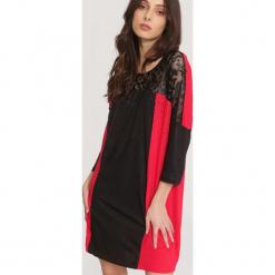 Czarno-Czerwona Sukienka Try Out. Czerwone sukienki mini other, l. Za 39,99 zł.