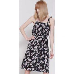 Sukienki hiszpanki: Czarna Sukienka If You Wait