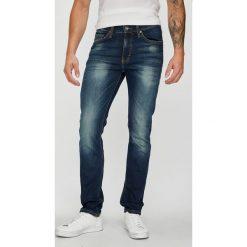 Mustang - Jeansy Frisco. Niebieskie jeansy męskie slim Mustang, z bawełny. Za 299,90 zł.