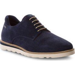 Półbuty PEPE JEANS - Barley Perforation PMS10218 Navy 595. Niebieskie derby męskie Pepe Jeans, z jeansu. W wyprzedaży za 299,00 zł.