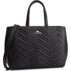 Torebka WITTCHEN - 87-4E-209-1 Czarny. Czarne torebki klasyczne damskie Wittchen, ze skóry. W wyprzedaży za 549,00 zł.