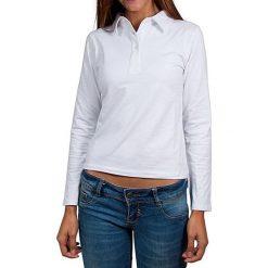 T-shirty damskie: Koszulka polo w kolorze białym