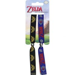 The Legend Of Zelda Festival wristbands Bransoletka standard. Szare bransoletki damskie The Legend Of Zelda. Za 21,90 zł.