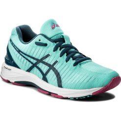 Buty ASICS - Gel-Ds Trainer 23 T868N Aruba Blue/Ink Blue/Fuchsia Purple 8845. Zielone buty do biegania damskie Asics, z gumy. W wyprzedaży za 389,00 zł.