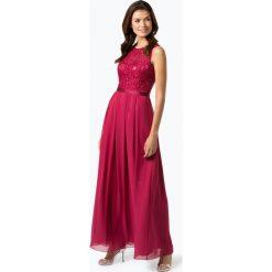 Laona - Damska sukienka wieczorowa, lila. Czerwone sukienki hiszpanki Laona, l, w koronkowe wzory, z koronki, wizytowe. Za 679,95 zł.