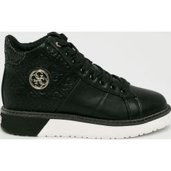 Guess Jeans - Buty. Czarne buty sportowe damskie Guess Jeans, z gumy. Za 529,90 zł.