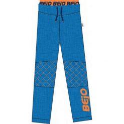 Spodnie chłopięce: BEJO Spodnie juniorskie Barnie Kdb Directoire Blue Melange r. 110