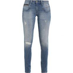 Freeman T. Porter ALEXA Jeansy Slim Fit blue. Niebieskie jeansy damskie marki Freeman T. Porter. W wyprzedaży za 407,20 zł.
