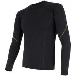 Odzież termoaktywna męska: Sensor Koszulka Termoaktywna Z Długim Rękawem Merino Air M Black Xl