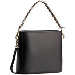 Torebka CREOLE - K10228  Czarny. Czarne torebki klasyczne damskie Creole, ze skóry, duże. W wyprzedaży za 189,00 zł.