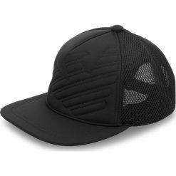 Czapka z daszkiem EMPORIO ARMANI - 627506 8A556 00020 Black. Czarne czapki z daszkiem męskie Emporio Armani, z elastanu. W wyprzedaży za 239,00 zł.