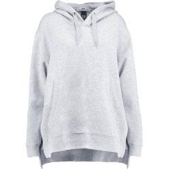 Bluzy rozpinane damskie: Hope BLOOM  Bluza z kapturem grey melange