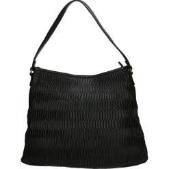 Torba - PLEAP63 BLACK. Czarne torebki klasyczne damskie Venezia, ze skóry. Za 549,00 zł.