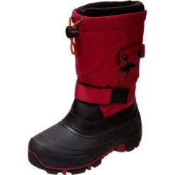 Buty zimowe damskie: KangaROOS KANGABEAN 2007 Śniegowce red