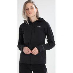 The North Face FIRE BRICK  Kurtka przeciwdeszczowa black. Czarne kurtki damskie przeciwdeszczowe The North Face, xl, z elastanu, outdoorowe. W wyprzedaży za 999,20 zł.