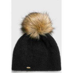 Starling - Czapka. Czarne czapki damskie Starling, na zimę, z dzianiny. W wyprzedaży za 99,90 zł.