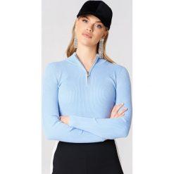 Golfy damskie: Storm&Marie Sweter z zamkiem – Blue