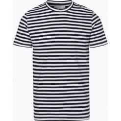 Minimum - T-shirt męski – Tino, niebieski. Niebieskie t-shirty męskie Minimum, m, w paski. Za 129,95 zł.
