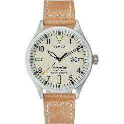 Timex ORIGINALS Zegarek beige. Brązowe zegarki męskie Timex. W wyprzedaży za 284,25 zł.