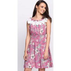 Sukienki: Różowa Sukienka Let Me Be