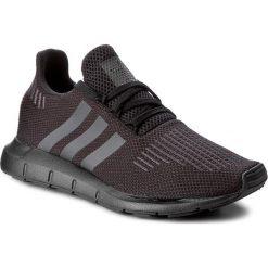 Buty adidas - Swift Run J CM7919 Cblack/Utiblk/Cblack. Czarne buty sportowe damskie Adidas, z materiału. W wyprzedaży za 209,00 zł.