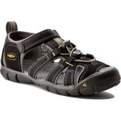 Sandały KEEN - Seacamp II Cnx 1012065 Black/Yellow. Czarne sandały męskie skórzane marki Keen. W wyprzedaży za 199,00 zł.