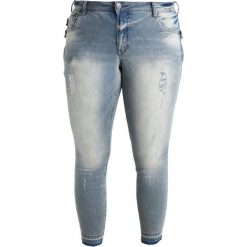 Boyfriendy damskie: Zizzi SANNA Jeans Skinny Fit light blue denim