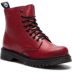 Trapery ALTERCORE - 651D Vegetarian Burgundy. Czarne buty zimowe damskie marki Altercore, z materiału. W wyprzedaży za 249,00 zł.