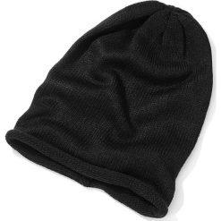 """Czapka """"beanie"""" bonprix czarny. Czarne czapki zimowe damskie marki bonprix. Za 29,99 zł."""