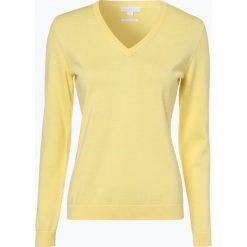 Brookshire - Sweter damski, żółty. Czarne swetry klasyczne damskie marki brookshire, m, w paski, z dżerseju. Za 129,95 zł.