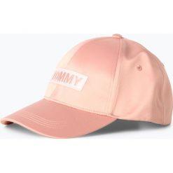 Czapki damskie: Tommy Jeans - Damska czapka z daszkiem, różowy