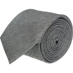 Krawaty męskie: krawat cotton szary classic 204