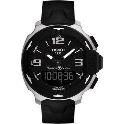 RABAT ZEGAREK TISSOT TOUCH COLLECTION T081.420.97.057.00. Czarne zegarki męskie marki TISSOT, szklane. W wyprzedaży za 1804,00 zł.
