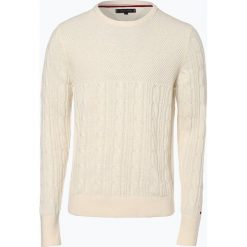 Tommy Hilfiger - Sweter męski, czarny. Czarne swetry klasyczne męskie TOMMY HILFIGER, l, z dzianiny. Za 449,95 zł.