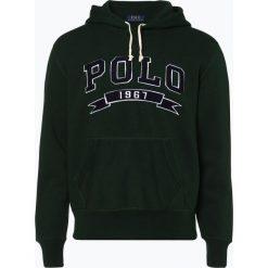Polo Ralph Lauren - Męska bluza nierozpinana, zielony. Zielone bejsbolówki męskie Polo Ralph Lauren, m, z polaru. Za 699,95 zł.