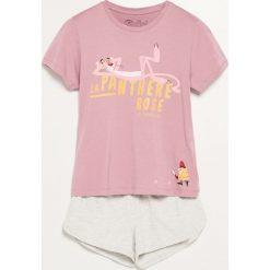 Piżama The Pink Panther - Bordowy. Niebieskie piżamy damskie marki Reserved. Za 59,99 zł.