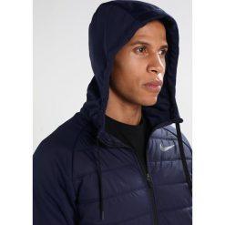 Nike Performance THERMA WINTERIZED FULL ZIP HOODED Kurtka sportowa blue. Niebieskie kurtki sportowe męskie marki Nike Performance, m, z materiału. W wyprzedaży za 343,20 zł.