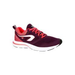 Buty do biegania RUN ACTIVE damskie. Fioletowe buty do biegania damskie marki KALENJI, z gumy. Za 99,99 zł.