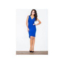 Sukienki: Sukienka M053 Niebieski