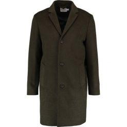 Płaszcze przejściowe męskie: Topman OAT WOOL Płaszcz wełniany /Płaszcz klasyczny black