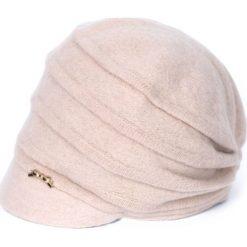 Czapka damska Elegant vision beżowa. Brązowe czapki zimowe damskie marki Art of Polo. Za 86,44 zł.