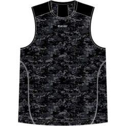 Hi-tec Koszulka męska Doram Black/Grey Pixel Camo Print/Anthracite r. XL. Czarne koszulki sportowe męskie Hi-tec, m. Za 47,12 zł.