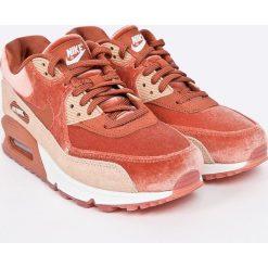 Nike Sportswear - Buty Wmns Air Max 90 Lx. Brązowe buty sportowe damskie Nike Sportswear, z materiału. W wyprzedaży za 539,90 zł.